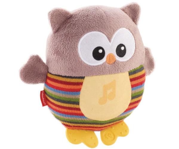 Музикална сова със светещо коремче